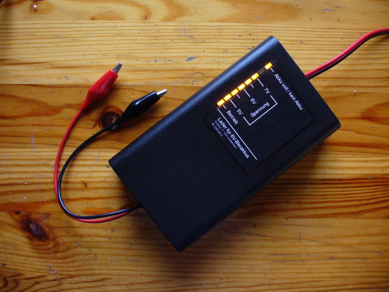 Akkulader Fr 6v Bleiakkus Led Voltmeter 5012 Psu Batt Chargers Electronic Components Mit Fertig Anzeige Und