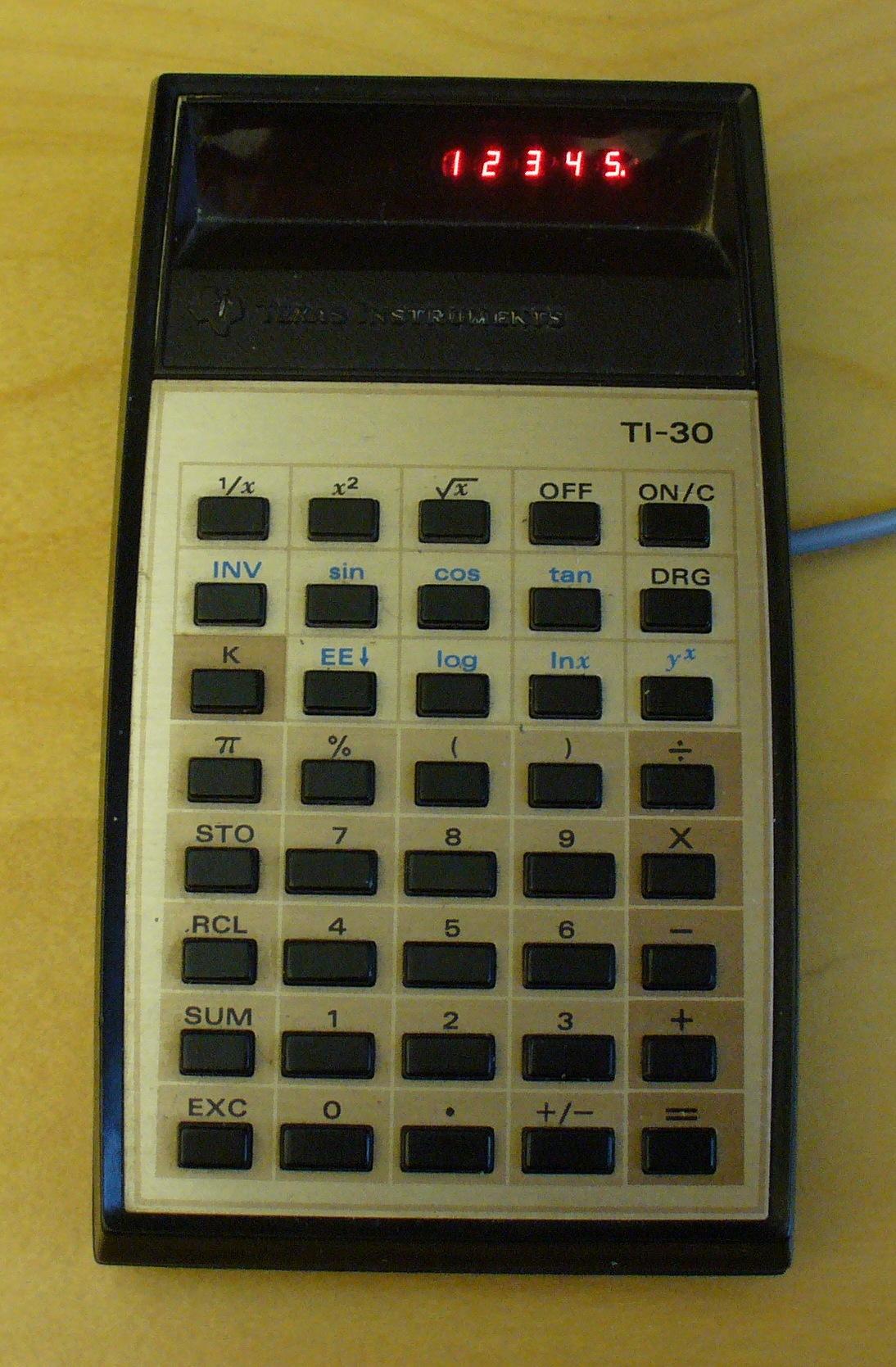 Boostwandler Für Alten Ti 30 Taschenrechner